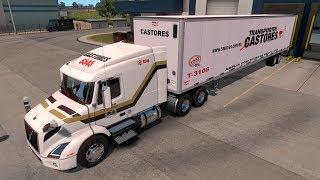 Download VOLVO VNR 640 | Beta 1.29 Recorriendo nuevos caminos | American Truck Simulator Video