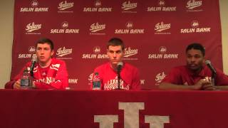 Download IU players postgame: Mississippi Valley State: Nov 14, 2014 Video