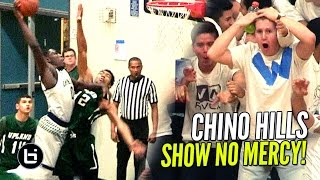 Download Chino Hills Show NO MERCY In Blowout Win! Eli Scott BODIES Defender! Video