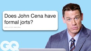 Download John Cena Goes Undercover on Twitter, YouTube, and Reddit | Actually Me | GQ Video