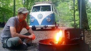 Download Pocahontas State Park VA. ( Road Trip 62' VW Bus ) Video