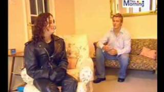 Download Ladie gets tricked into wearing leather trousers Video