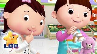Download Supermarket Shopping   NEW   Little Baby Bum Junior   Kids Songs   LBB Junior   Songs For Kids Video