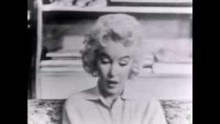 Download Marilyn Monroe Rare Live Television Appearance - ″Person To Person″ Interview 1955 Video
