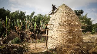Download Amazing Woven Bamboo House -Traditional Green Building Video