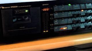 Download Nakamichi Dragon Cassette Deck Test Video