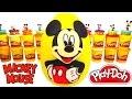 Download Huevo Sorpresa Gigante de Mickey Mouse en Español de Plastilina Play Doh Video