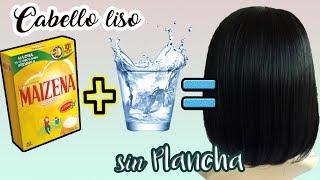 Download Cabello liso sin plancha ni calor | Liso con Maizena | Valeria Silva Video