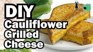 Download DIY Cauliflower Grilled Cheese, Corinne VS Cooking #17 Video