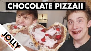 Download Best Food Craze: CHOCOLATE PIZZA!!! Video
