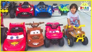 Download Ryan's Power Wheels Collections Ride On Car! Video