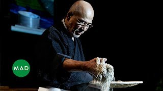 Download Soba Master Tatsuru Rai demonstrates his craft at MAD4 Video