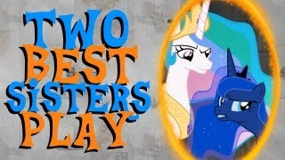 Download Two Best Sisters Play Portal 2 Video