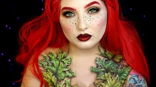 Download Wilted Poison Ivy Halloween Makeup Tutorial | Jordan Hanz Video