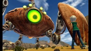 Download Monsters Vs Aliens - Ch. 3: In the Canyons [THE BIG STING] - Part 16 [Xbox 360] Video