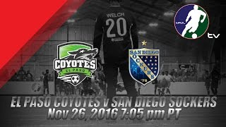 Download El Paso Coyotes vs San Diego Sockers Video