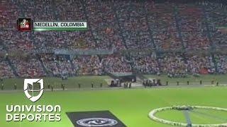 Download El Atlético Nacional de Medellín llenó su estadio para honrar al Chapecoense Video
