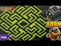 Download BEST TH9 FARMING BASE 2017 FT. FREEZE TRAP - CLASH OF CLANS Video