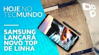 Download Samsung lançará novo top de linha - Hoje no TecMundo Video