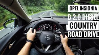 Download Opel Insignia B 2.0 Diesel 4x4 Sports Tourer - POV Country Road Drive Video