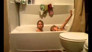 Download Kids Taking a Bath Video