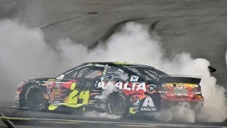 Download Jeff Gordon Wins Inaugural Night Race at Kansas Speedway in Axalta Chevrolet SS Video