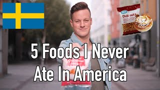 Download 5 Foods That I Only Eat In Sweden (Not In America) Video