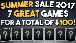 Download Steam Summer Sale 2017 - 7 GREAT Games for a Total of $100 Video