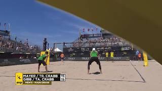 Download 2018 FIVB Huntington Beach Open: Mayer/Crabb vs. Crabb/Gibb Video