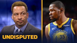 Download Chris Broussard on KD calling him out on Twitter: I have no problem with it | NBA | UNDISPUTED Video