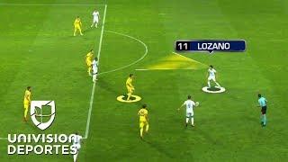 Download 'Chucky' Lozano se estrenó a lo grande en la UEFA Champions League Video