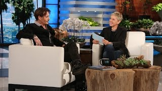 Download Ellen Puts Johnny Depp in the Hot Seat Video