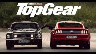 Download Ford Mustang: GT V8 (2015) vs GT 390 Bullitt (1968) Video