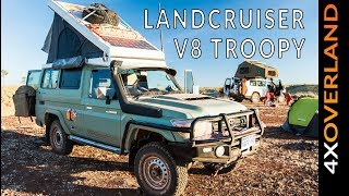 Download TOYOTA LAND CRUISER TROOPY | THE WORLD'S LONGEST TRACK (Ep-9) Andrew St Pierre White Video