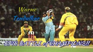 Download Sachin Tendulkar vs Shane Warne : RELIVE THE EPIC BATTLE OF CHAMPIONS!!! Video