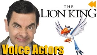 Download ″The Lion King″ Voice Actors and Characters Video