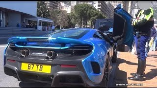 Download Shmee150 stopped by the Police in Monaco in his Mclaren 675 LT Video