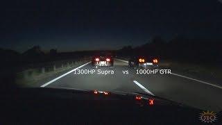 Download 1300HP Supra vs 1000HP Nissan GTR Video