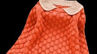 Download New Knitting Stitch Pattern For Cardigan | Jacket and Sweater Design#112** Video