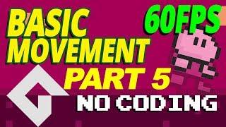 Download Game maker Studio 2 - drag and drop - Basic movement - Part 5 ( Change frame rate 60 FPS ) DnD Video