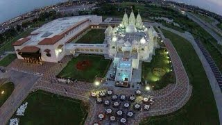 Download Akshardham Biggest Hindu Temple In New Jersey USA Opening on August 10th - Hybiz.tv Video