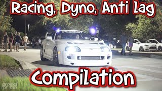 Download Sik2jz 1000hp Supra Turbo racing, dyno anti lag compilation Video