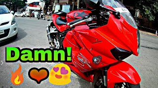 Download Hyosung GT650R first ride and short review | Akropovic Exhaust | Damn speed and loud | Super bike Video