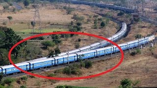 Download BEST EVER ″ ILLUSION ″ | INDIAN TRAINS IMPINGE EACH OTHER AT SCENIC PLACE Video