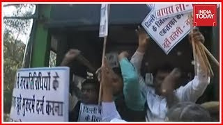 Download Street War Between AAP, BJP Over Slapgate In New Delhi Video