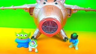 Download Toy Story 3 Electronic Porkchop Spaceship vs Buzz Lightyear Evil Dr. Porkchop Pig Video