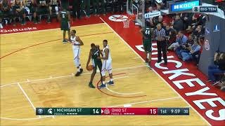 Download (NCAAM) #1 Michigan State Spartans at Ohio State Buckeyes in 40 Minutes (1/7/18) Video