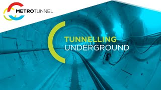 Download Tunnelling underground - Melbourne Metro Rail Project Video