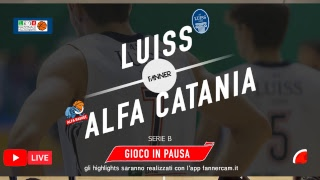Download SERIE B Girone D Luiss Roma - Alfa Basket Catania Video
