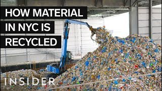 Download How Garbage Is Recycled At The US' Largest Recycling Facility Video
